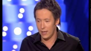 Jean Luc Lemoine - On n'est pas couché 7 avril 2007 #ONPC