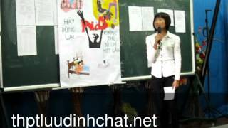 Bài thuyết minh về tệ nạn xã hội - Chào mừng ngày 26.03.2012