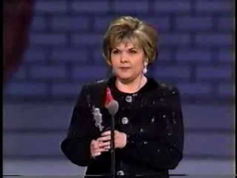 Debra Monk wins 1993 Tony Award for Best Featured Actress in a Play