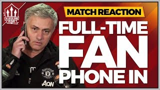 MOURINHO Out Now? Manchester City vs Manchester United Fancam Reaction