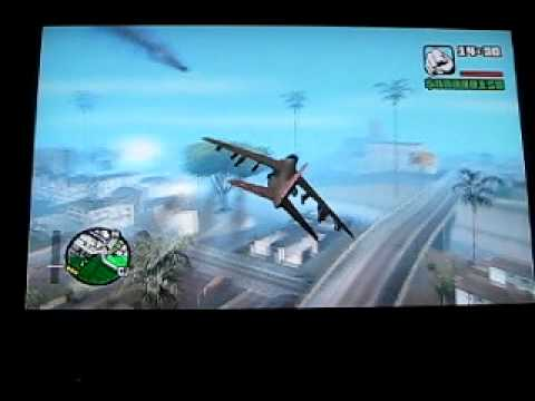 GTA SAN ANDREAS HYDRA JET SPAWN & CONTROLS (360)