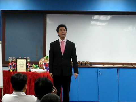 Toastmasters Division S Table Topics - Lawrence Chan