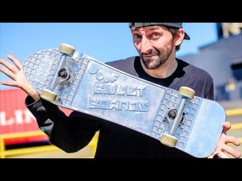 WHAT IS A BILLET BOARD?! | YOU MAKE IT WE SKATE IT EP. 259