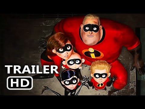 "INCREDIBLES 2 ""Tons of New Footage"" Trailer (2018) Disney Pixar Movie HD"
