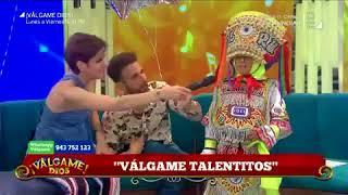 'Peluchín' y Gigi Mitre fueron trolleados por niño danzante de tijera