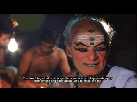 Mukhamezhuthinte Bhasha-documentary About Kathakali Chutti video