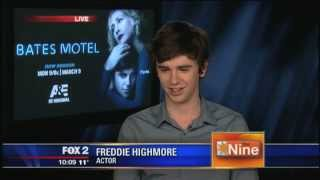 Freddie Highmore on playing Norman Bates in