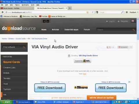 Аудиодрайверы на xp