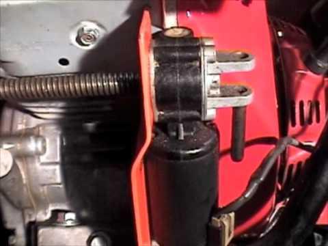 Chute rotator motor