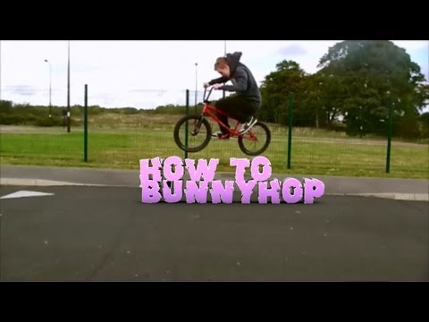How To Bunnyhop On A BMX