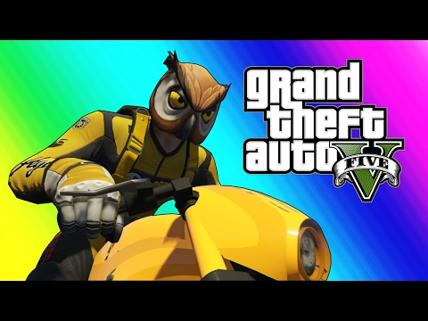 GTA 5 Online Funny Moments - Owl and Raccoon House Tour! (Funny Glitches) thumbnail