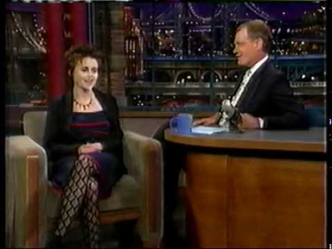 Helena Bonham Carter on the 'Late Show With David Letterman'