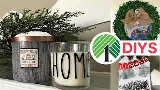 🎄 DOLLAR TREE DIY CHRISTMAS DECOR 2018 | FARMHOUSE, RUSTIC & BUFFALO CHECK