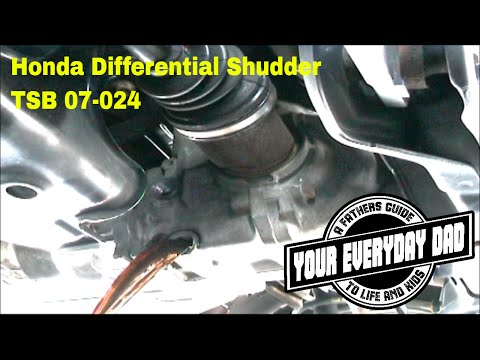 2004 Honda CR-V Rear Differential Shudder/Noise