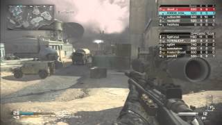 افضل سنايبر كود 10 Call of Duty: GHOST sniper game play