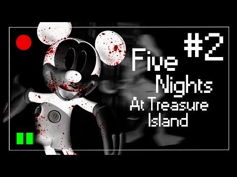 Five Nights At Treasure Island - AtÉ O Pato Donald! #2 (noite 2) video