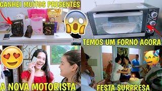 TEMOS UM FORNO, GANHEI MUITOS PRESENTES, CENTRO DE HORTOLÂNDIA E ANIVERSÁRIO DO TIO ♥ - Bruna Paula