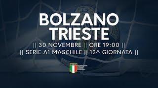 Serie A1M [12^]: Bolzano - Trieste 37-25
