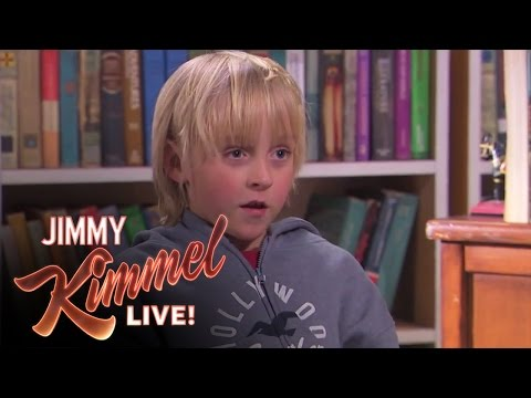 Jimmy Kimmel Talks to Kids - What s the Difference Between a Boy & a Girl?