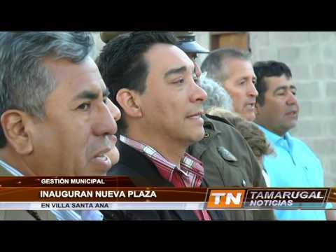 Tamarugal Noticias - Inauguración Plaza Villa Santa