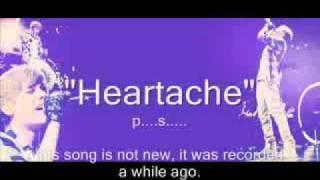 Heartache - Justin Bieber   Lyrics ( New Official 2011 Song )