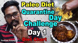 Paleo Diet Quarantine Day Challenge Day 1  (Weight Loss Tips)