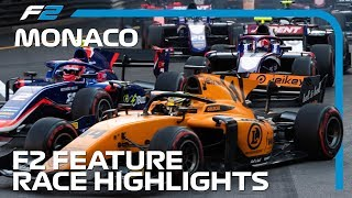 Formula 2 Feature Race Highlights | 2019 Monaco Grand Prix