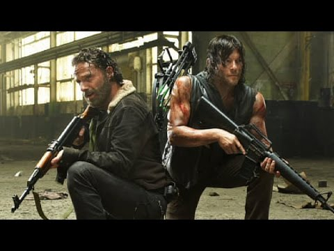 Top 10 The Walking Dead Zombie Kills video