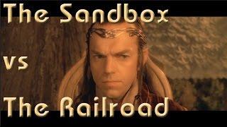 The Sandbox vs the Railroad, Running the Game #12