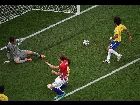 Brazil  3 - 1 Croatia   World Cup 2014