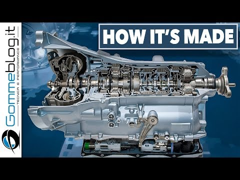 HYPNOTIC VIDEO about HOW Gearbox is Made - CAR FACTORY Extreme Machines