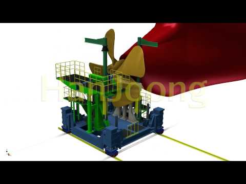 PROPELLER TRANSPORTER / SHIPYARD / SHIPBUILDING / AUTOMATION / HanJoong