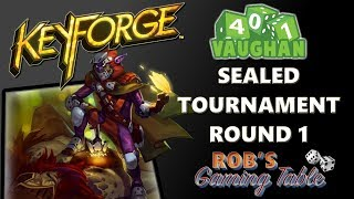 KeyForge: Sealed Tournament @ 401 Games #1 (With Commentary)