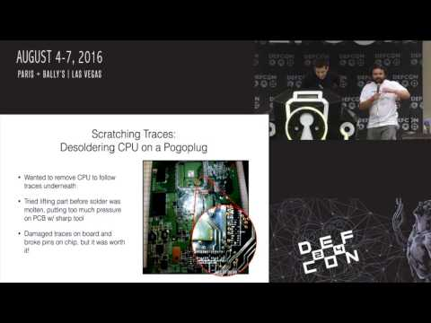 DEF CON 24 - Joe FitzPatrick. Joe Grand - 101 Ways to Brick your Hardware