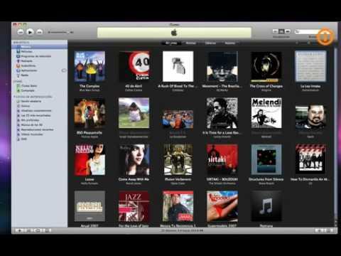 Grabar CD-A, CD-MP3 o DVD con iTunes 8