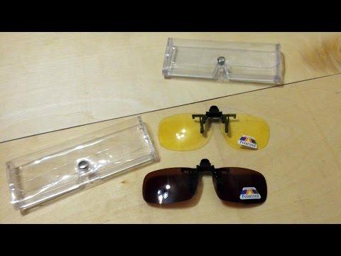антибликовые накладки на очки для рыбалки