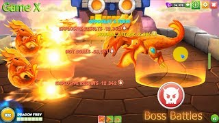 All Boss Dragon Battles - Part 1 - Dragon Mania Legends