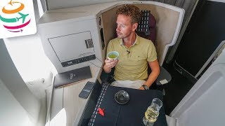 Japan Airlines Business Class 787-9 JAL Sky Suite III | GlobalTraveler.TV