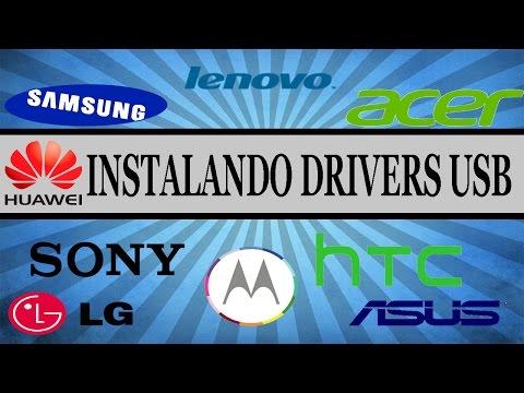 Como Instalar Drivers do Android no PC // Qualquer Android