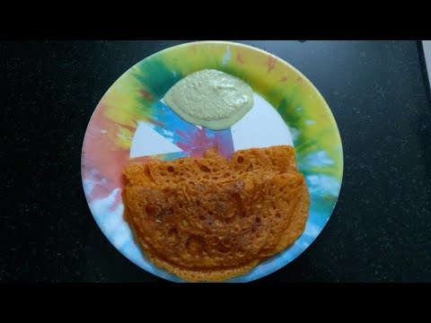 How to make tomato dosai without fragmentation/crispy tomato dosa