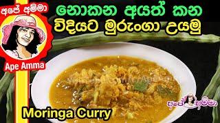 Moringa curry with coconut milk by Apé Amma