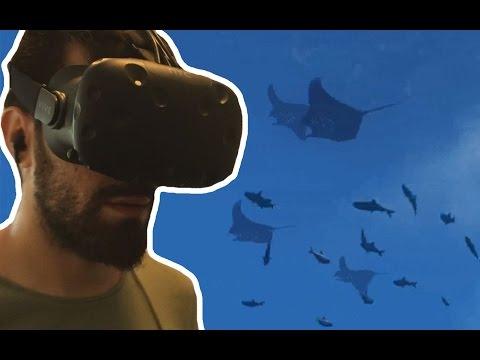 Sanal Gerçeklik ile Sualtı Deneyimi (HTC Vive - İlk Bakış)