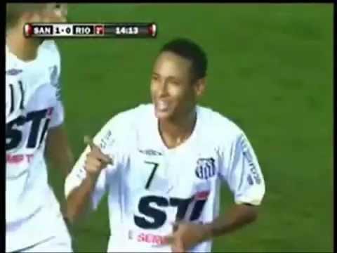 Neymar - Santos FC - PART 1