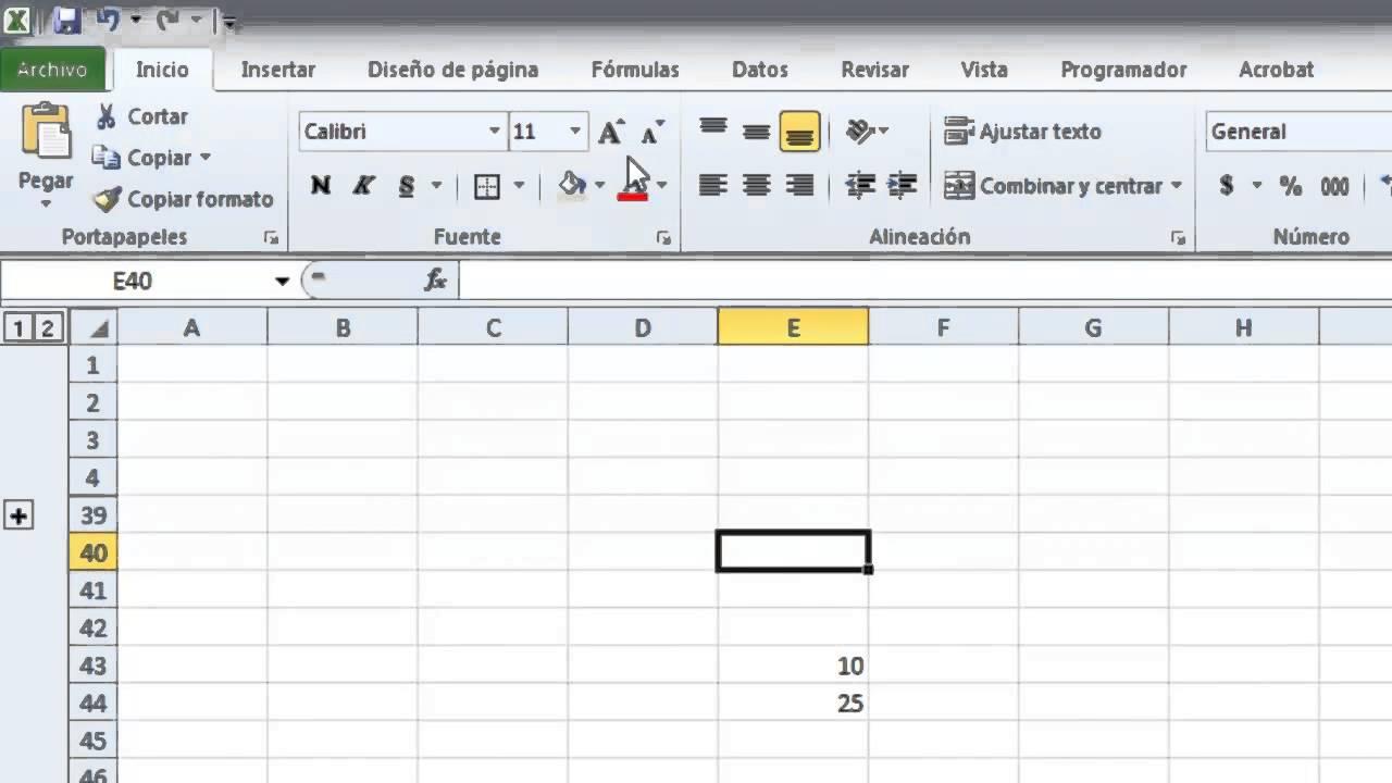 Excel - Nivel Básico - Tutorial #1