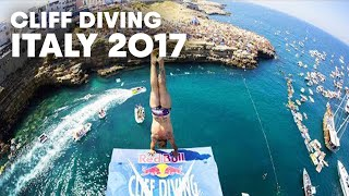 These guys sure know how to dive   Red Bull Cliff Diving Italy 2017 - Best Dives Men
