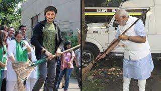 Bachchan - Sudeep To Take 'Swachh Bharat Abhiyan' | Amitabh Bachchan | Aamir Khan