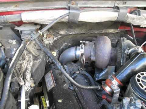 1996 Powerstroke Down Pipe And Stack Install Youtube