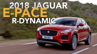 2018 Jaguar E-Pace Review - First Drive