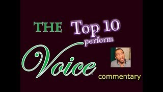 Download Lagu The Voice 2018 Top 10 perform (commentary) Gratis STAFABAND