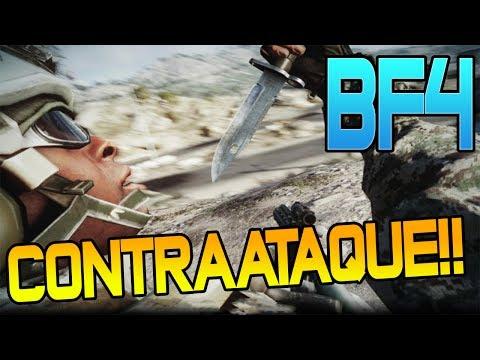 Battlefield 4 | CONTRAATAQUE!! | Duelo Por Equipos en Parecel Storm |